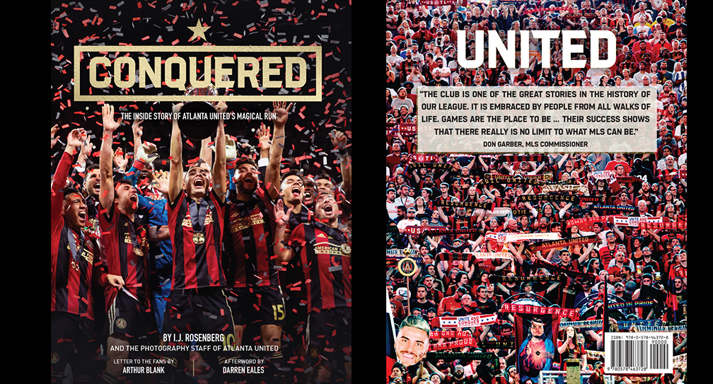reputable site 5ea4c e4d3e CONQUERED! New book on building of Atlanta United hits ...