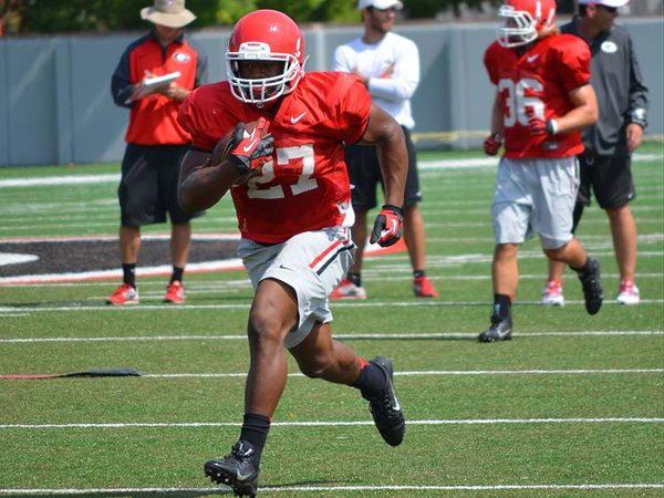 ce1e3ecf2 Nick Chubb Looks To Make A Larger Impact In 2015